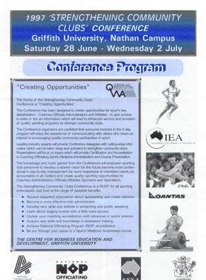 Conference Program Sample