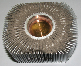 Dusty Heatsink Fins